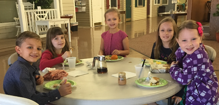 Childrens Ministry Breakfast Buddies